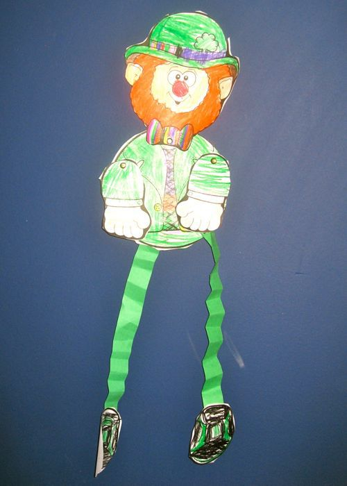 leprechaun art, kid art
