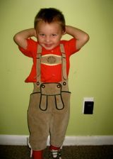 toddler lederhosen