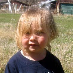 toddler haircut before
