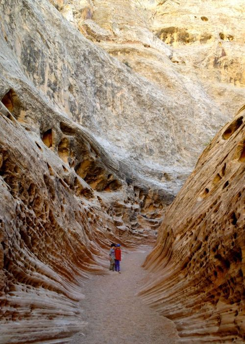 little wild horse canyon, kids, slot canyon hike