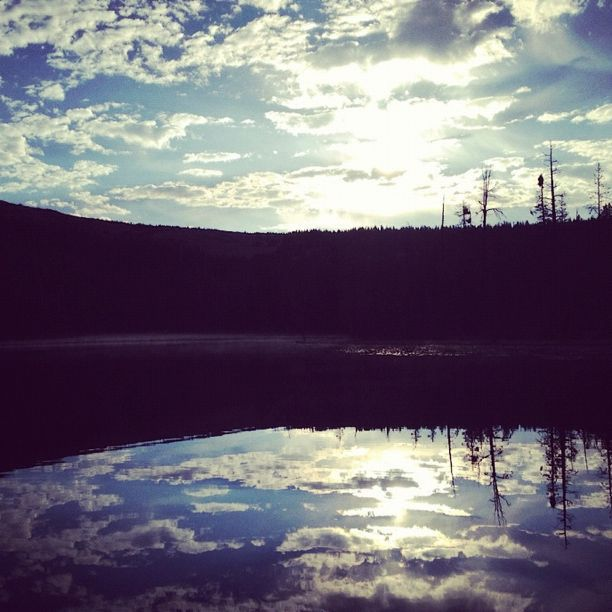 lake sky uintas instagram