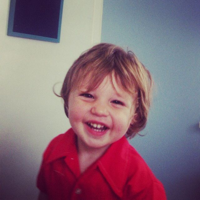 toddler boy smiling red blue instagram