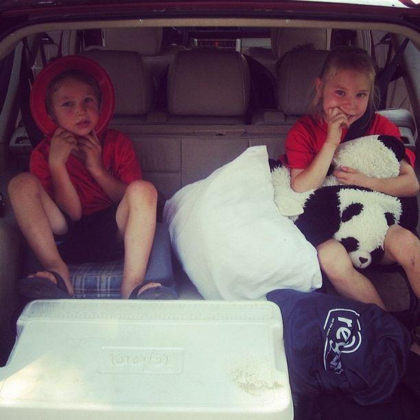 kids in booster rear facing seats instagram