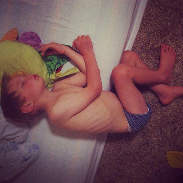 little boy sleeping instagram