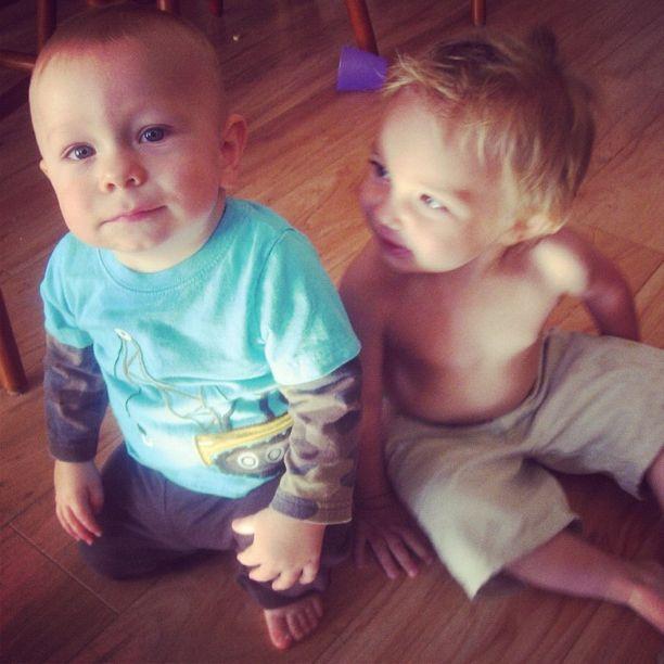 toddler boys on floor instagram