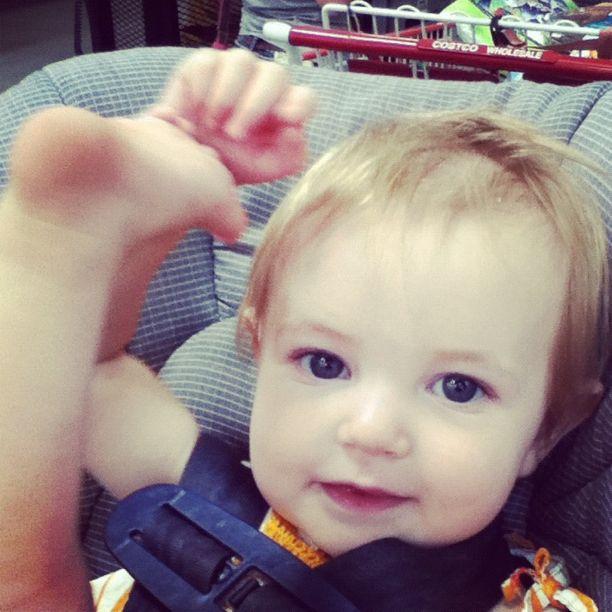 baby girl car seat instagram