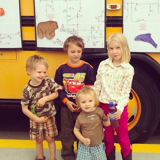kids back to school night bus instagram