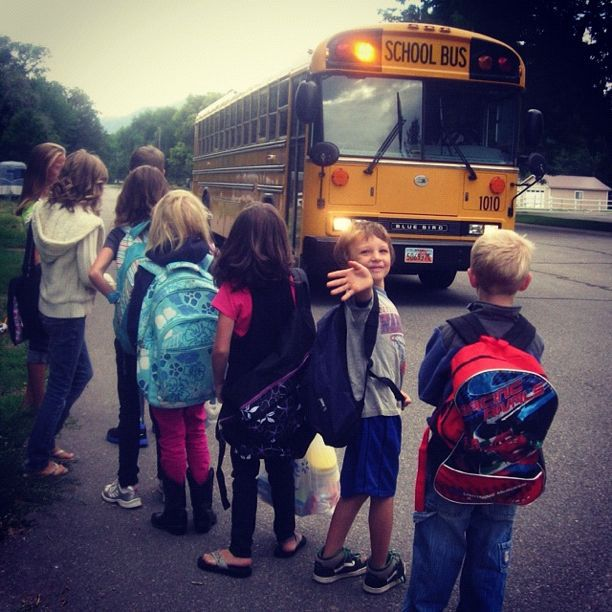first day of school instagram