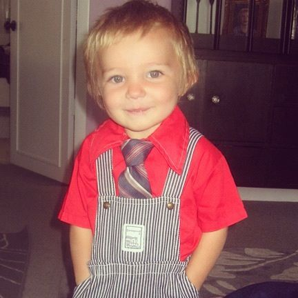 little toddler boy tie instagram