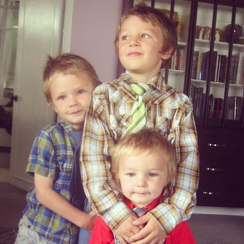 brothers ties church instagram little boys