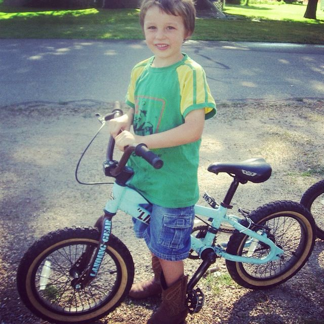 little boy bike instagram