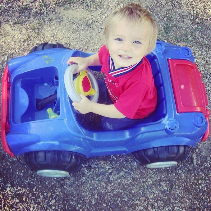 little boy toy car instagram