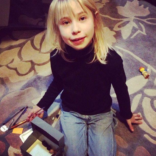 little blond girl black shirt instagram