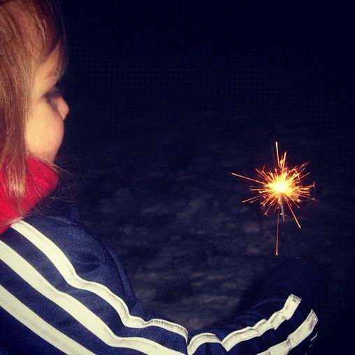 little boy sparkler instagram