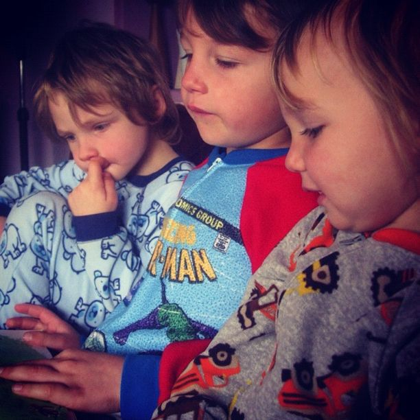 brothers reading story instagram