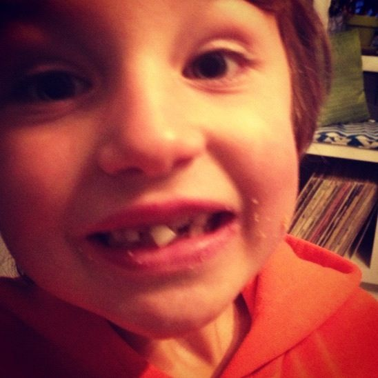 little boy loose tooth instagram