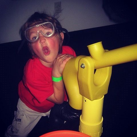 little boy air gun kangaroo zoo goggles instagram