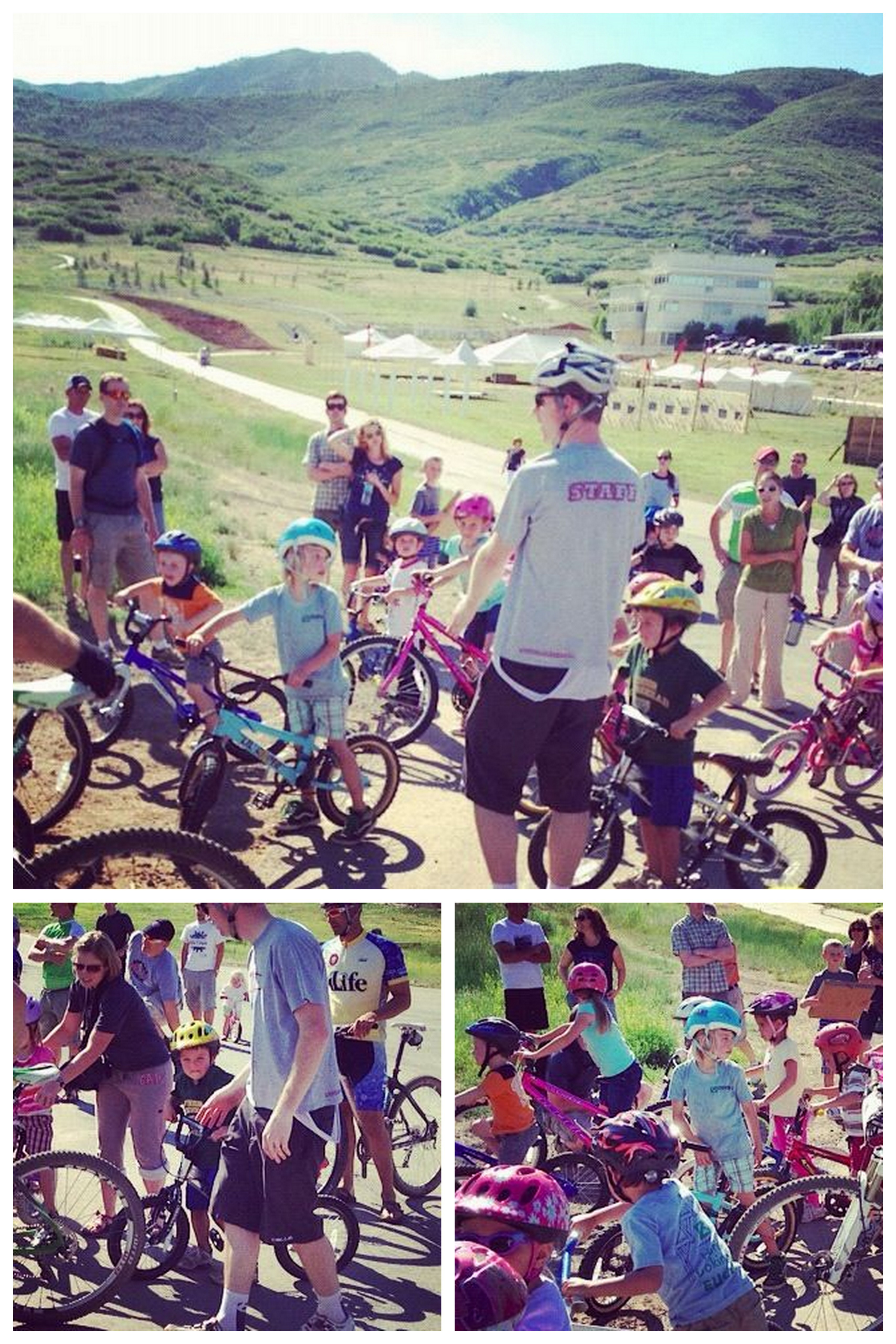 kids mountain bike race start instagram