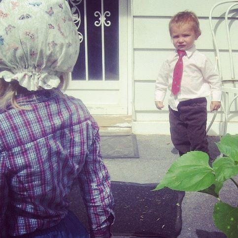 little boy tie instagram