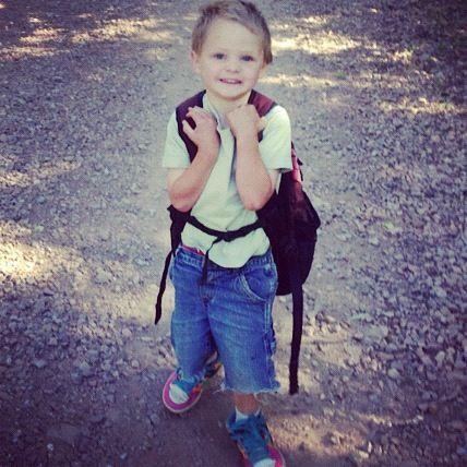 little boy hiking instagram