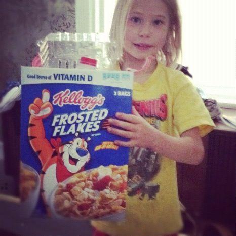 little girl homemade robot instagram