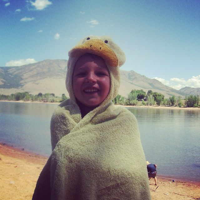 little boy lake towel instagram