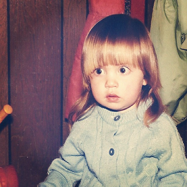 little toddler girl 70s instagram