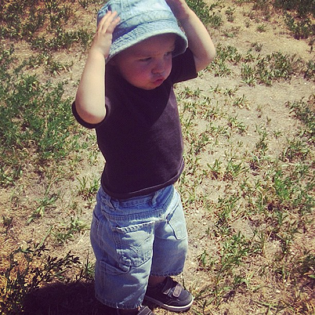little toddler boy hat instagram