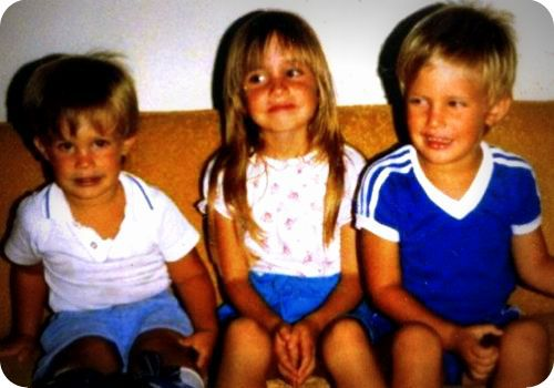 siblings kids 80s family