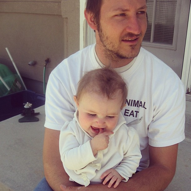 father and baby girl instagram