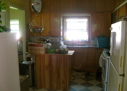 kitchen install paneling