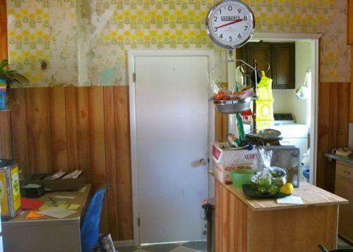 kitchen install paneling