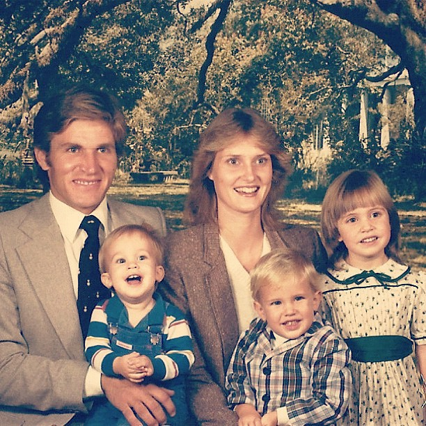 80s family picture olan mills