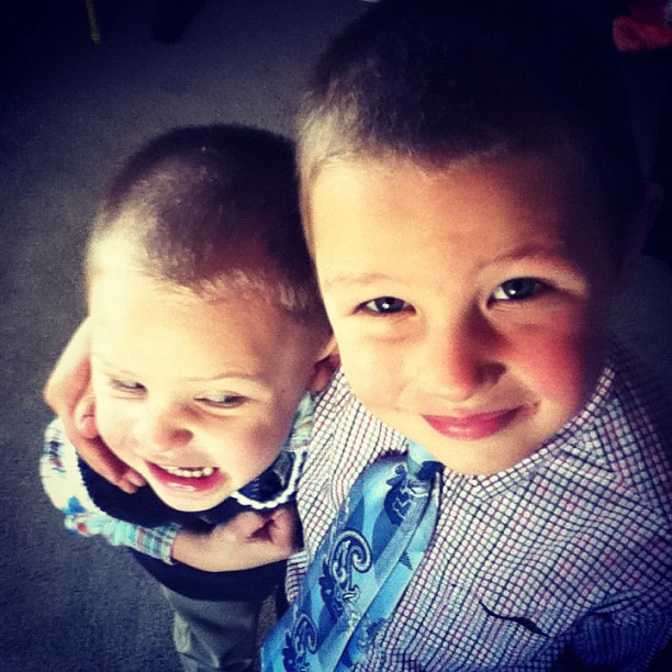 brothers ready for church instagram