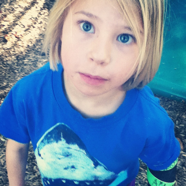 close up little girl blue eyes instagram tomboy