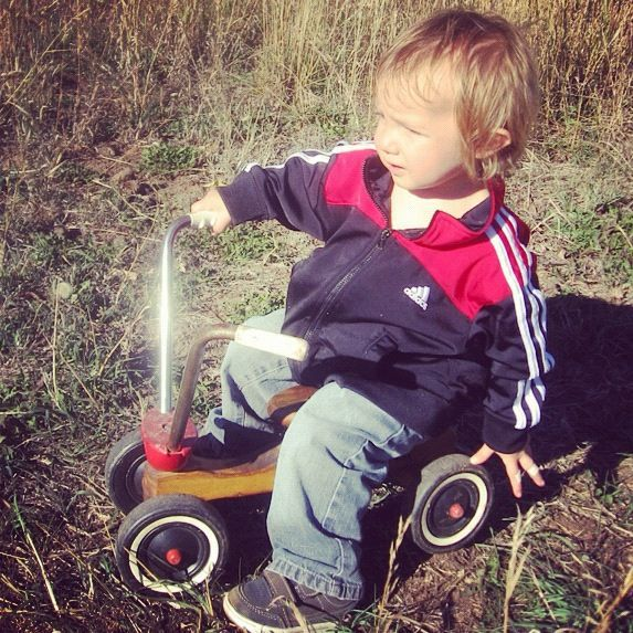 toddler boy radio flyer mountain bike instagram pasture