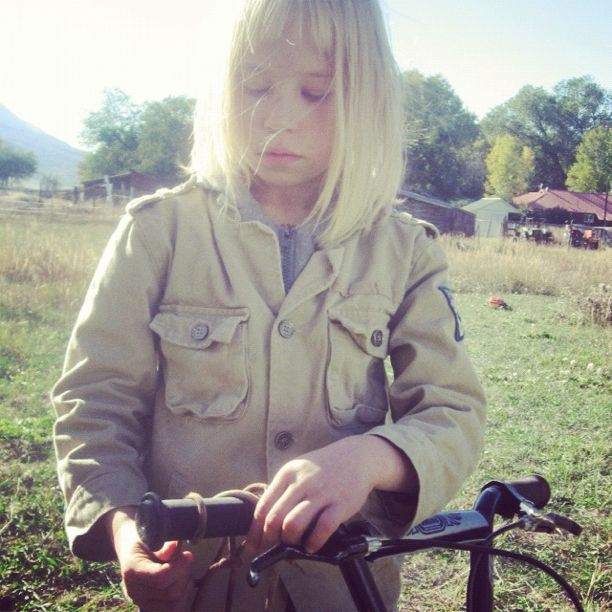 little girl bike pasture instagram mountain bike