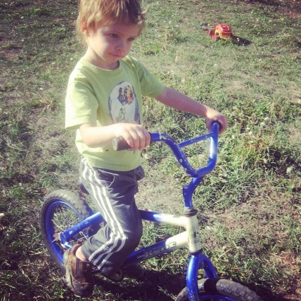 little boy bike pasture instagram mountain bike