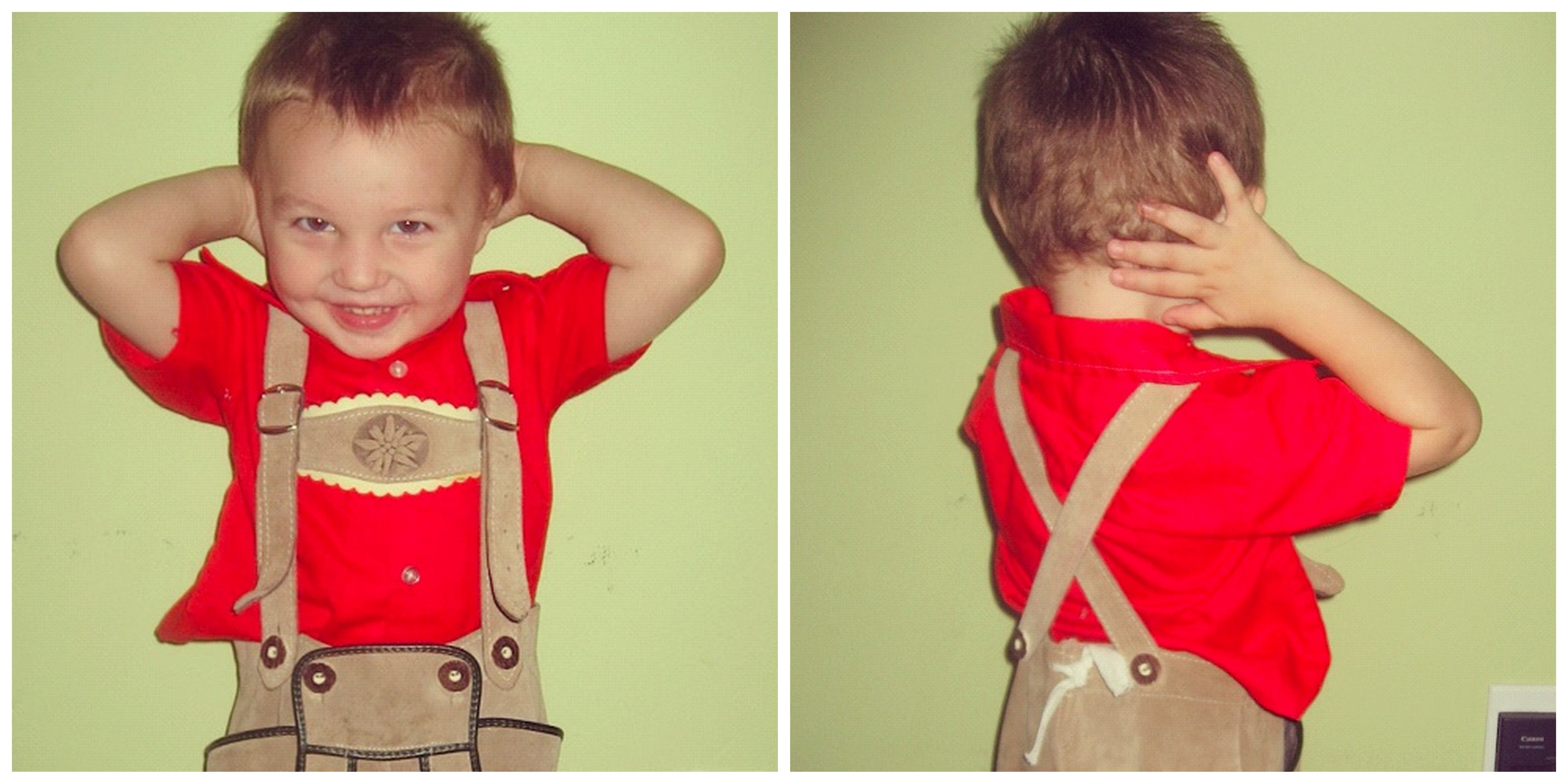 little boy lederhosen instagram