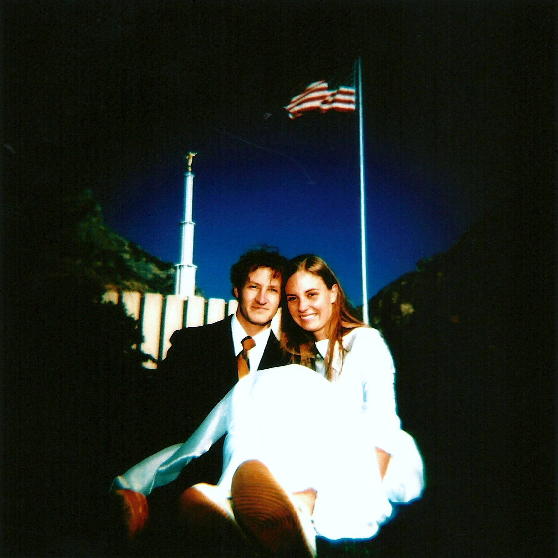 wedding provo temple holga