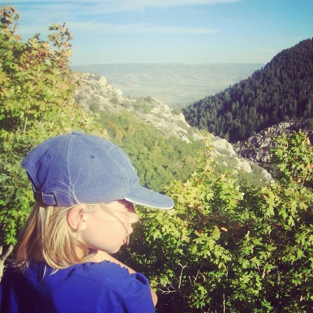 little girl hike lookout instagram