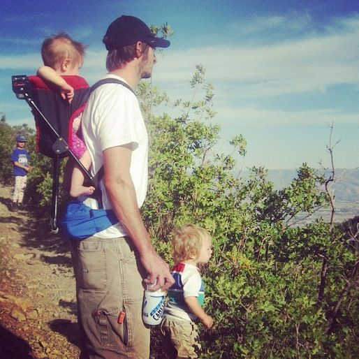 family hike instagram