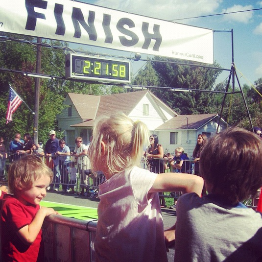 kids finish line instagram