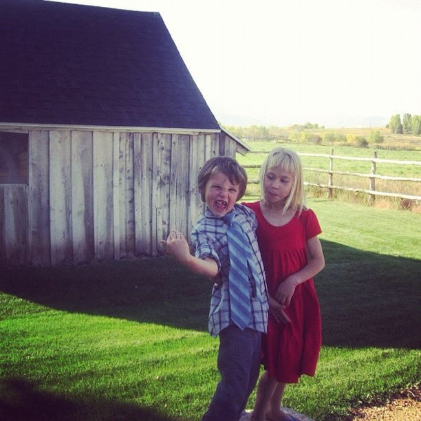 boy girl farmyard farm instagram