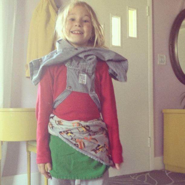 little girl crazy outfit instagram