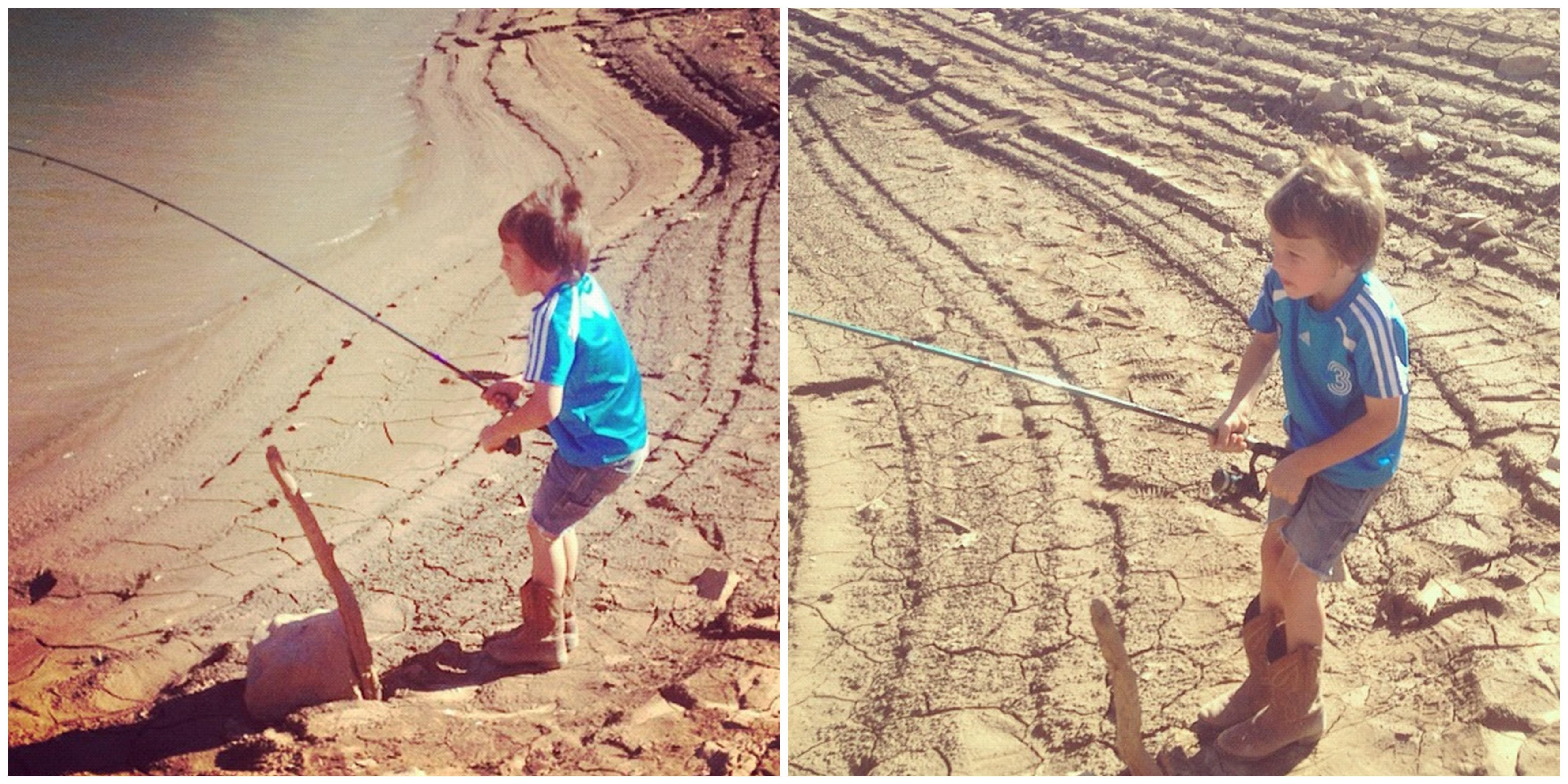little boy fishing instagram