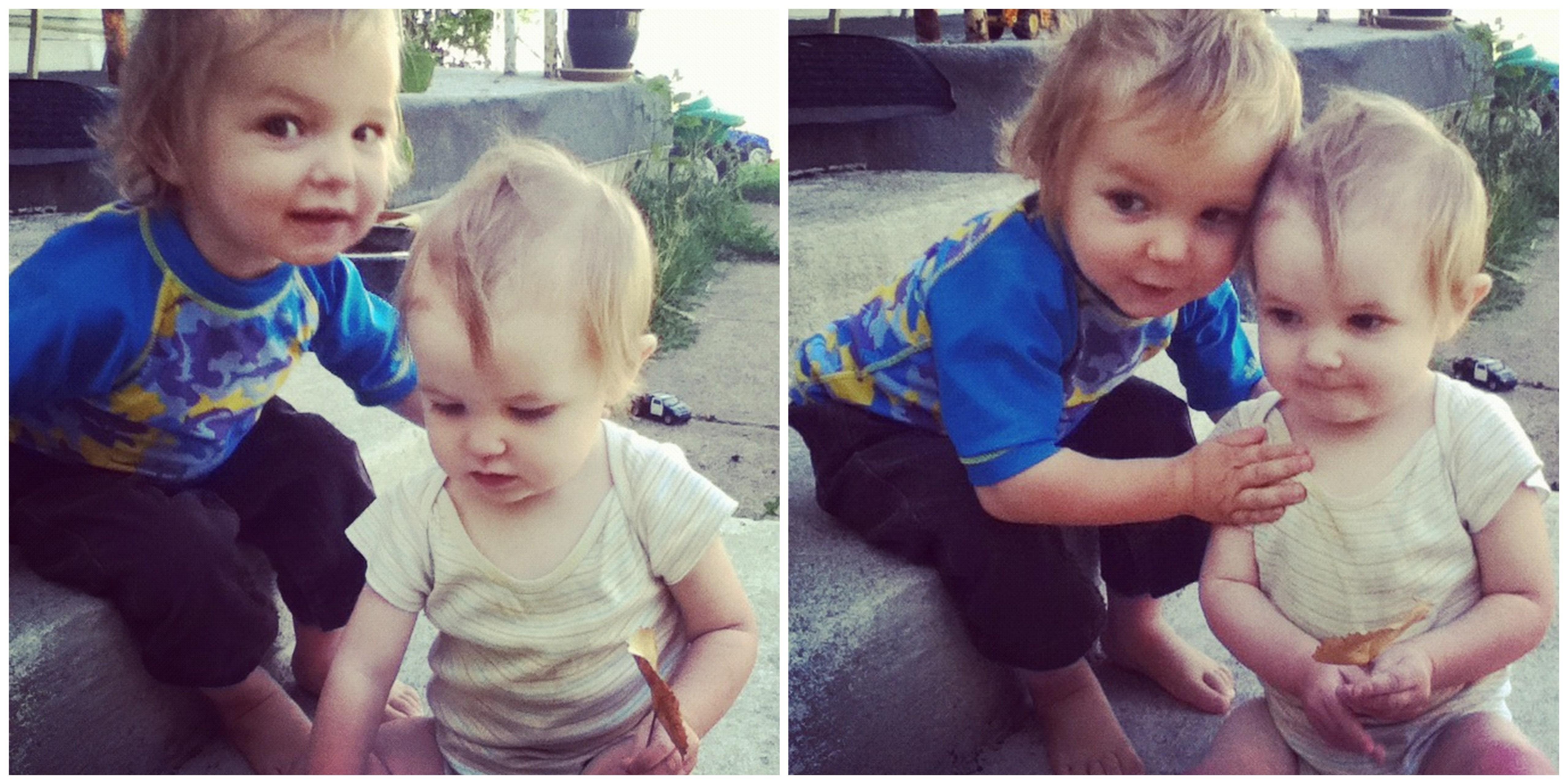 toddler boy baby girl siblings instagram