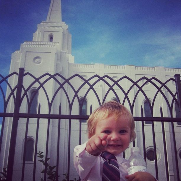 little kids brigham city temple instagram