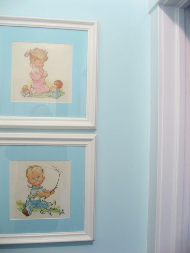 turquoise hall retro prints