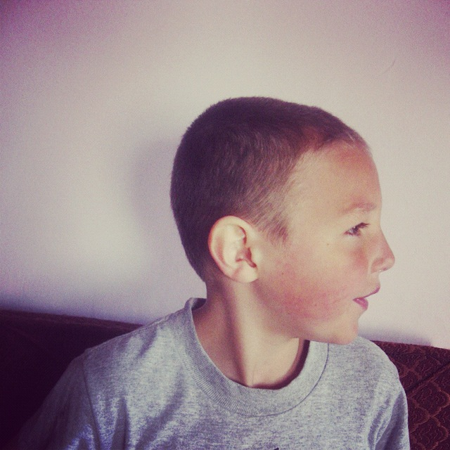 little boy haircut after instagram